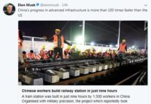 Screenshot of tweet by SpaceX and Tesla founder Elon Musk (File photo)#
