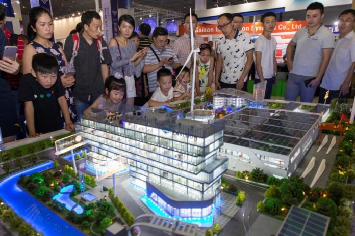 The four-day 2017 World Internet of Things Expo kicks off in eastern China's Wuxi city on September 10, 2017. (Photo from CFP)