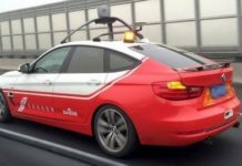 Baidu tests autopilot car. (Photo from Baidu)