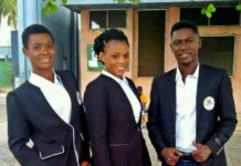 Team Ghana's Chef de Mission for Youth Olympics 2018