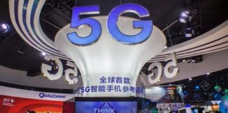 China Mobile's 5G booth at an exhibit in Guangzhou, capital of South China's Guangdong Province in November 2017 Photo: VCG