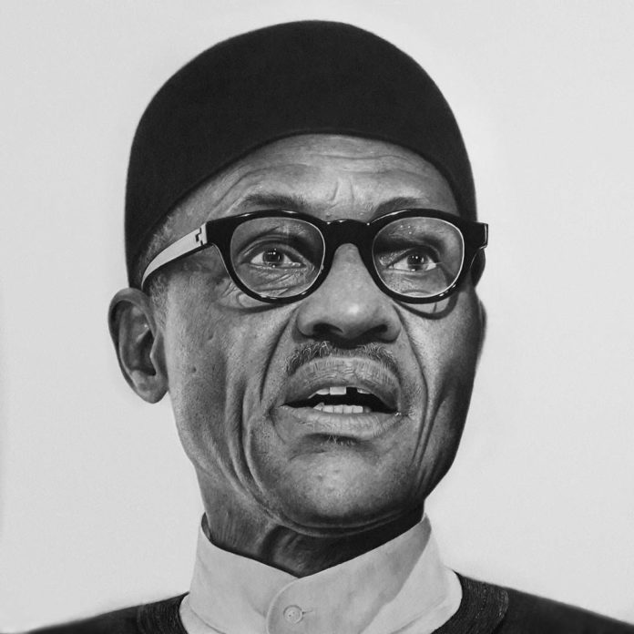 Buhari artwork