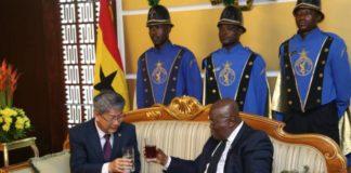 credentials of the Republic of Korea's envoy to Ghana, Mr Kim Sungsoo