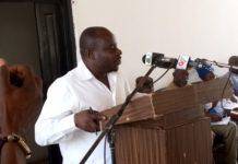 Mr Eric Kwadjo Amoh, the Upper East Regional GJA Chairman