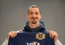 .International football star Zlatan