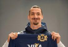 .International football star Zlatan