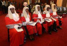 five Appeals Court judges