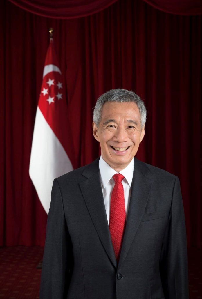 Prime Minister of Singapore Lee Hsien Loong (Photo: Ministry of Communications and Information, Singapore)