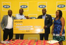 MTN gives SWAG GH₵50,000.00 towards 43rd Awards Night