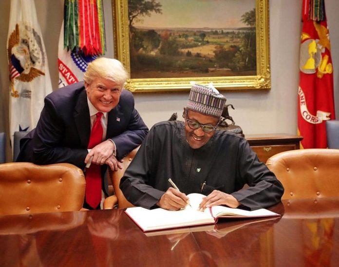 President Buhari Meets Donald Trump