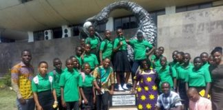 students from Ketu-South District