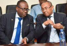 Kwesi Nyantakyi and Ahmad