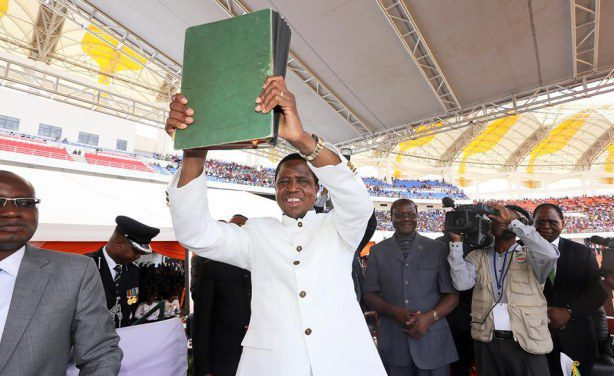Photo: Zambian Watchdog President Edgar Lungu signed the Constitution of Zambia bill making a significant step on a matter that had long dominated the political life of the nation.