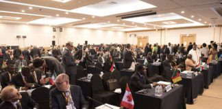 Scenes during the Closing Session of the 2018 Annual Meetings on day 5 of the AfDB Annual Meetings in Busan, South Korea, 25th of May 2018. (Photo by Soufiane Najah)