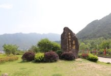 Chixi village has attracted a number of visitors by its beautiful sceneries and refreshing environment. Photo by Liu Lingling