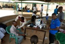 health screening in Bolgatanga