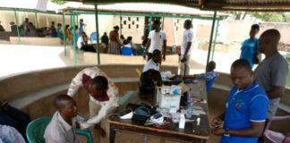 health screening in Bolgatanga