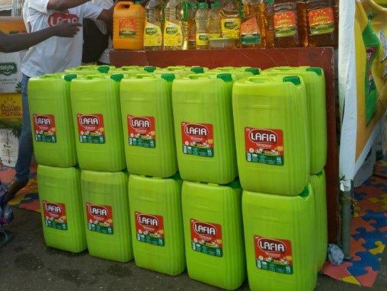 Lafia vegetable cooking oil
