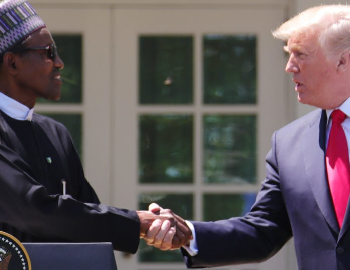 PRESIDENT BUHARI AND TRUMP BRIEF WORLD PRESS