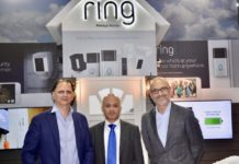 Rohit Gandotra, Senior Director Xcite by Alghanim, Mohammad Meraj Hoda, VP – Business Development at Ring and Fernando Vicente Lopez, VP of Electronics at Alghanim Industries