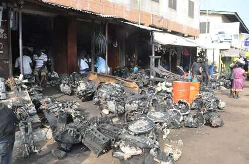 Abossey-Okai spare parts dealers