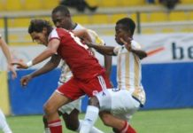 Torric Jebrin in action for Bucaspor