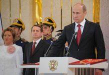 Vladimir Putin inauguration 7 May 2012