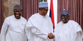 Buhari hosts Tinubu