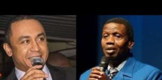 Daddy Freeze and Adeboye