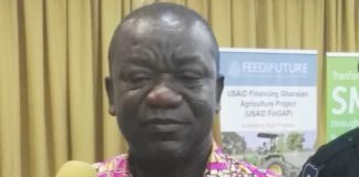 Deputy Minister of Food and Agriculture, Mr. George Boahene Oduro