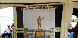 late major Maxwell Adam Maham
