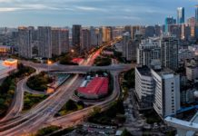 A bird's eye view of Qingdao. (Photo from People's Daily online)