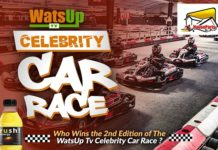 WatsUp TV Celebrity Car Race