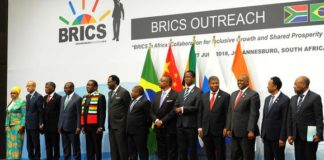BRICS African participants, July 2018