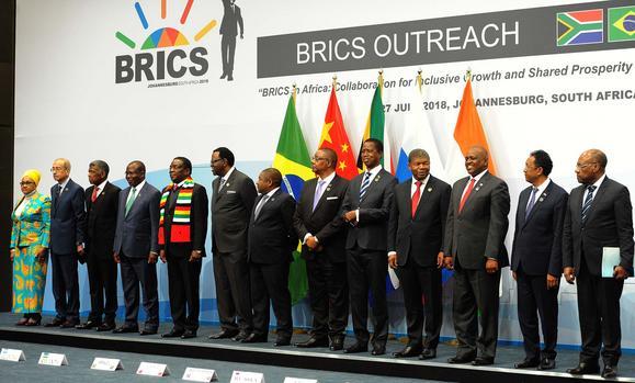 BRICS African participants, July 2018