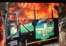 Zimbabwe MDC-A instigated violence on August 1, 2018 in Harare