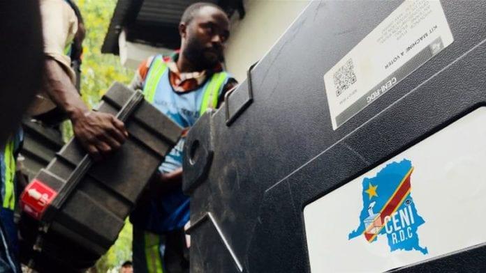 Democratic Republic of Congo election machines for December 30, 2018 poll