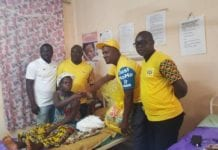 MTN presents gifts to Christmas babies in Tarkwa