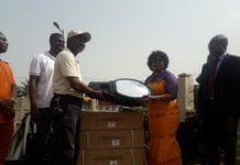 ICGC, Holy Ghost Temple donates street lights