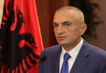 Albanian President Ilir Meta