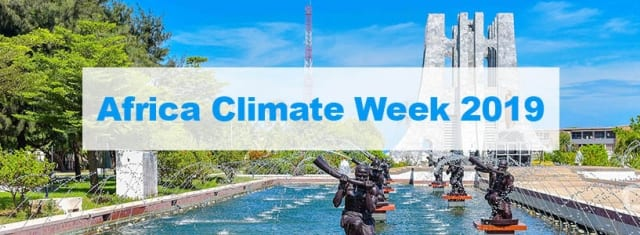 Image result for africa climate week 2019 images