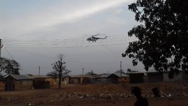 Police continue to monitor the situation at the Gbewaa Palace and the entire Yendi municipality.