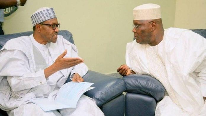 Buhari and Atiku (Photo Credit: Pulse)
