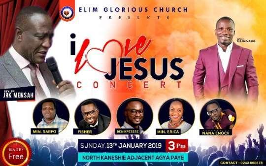 I love Jesus Concert