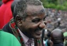 Lupando Mwape/ former Zambia VP