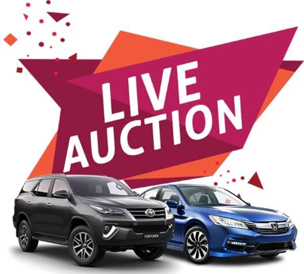 carsbazr live auction