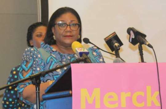 first lady to host merck african asian