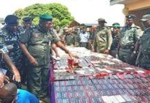 Nigerian police seize 34,000 live cartridges
