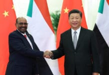 President Xi Jinping meets with Sudanese President Omar al-Bashir at the Great Hall of the People in Beijing, Sept 2, 2018. [Photo/Xinhua]