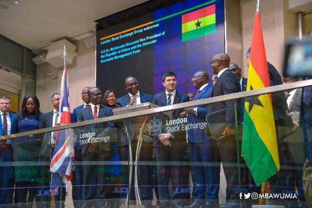 London Stock Exchange and Ghana